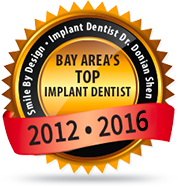 Bay Area's Top Implant Dentist 2012 - 2016