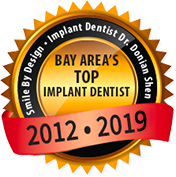Bay Area's Top Implant Dentist 2012 - 2017